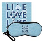 Live Love Lake Eyeglass Case & Cloth (Personalized)