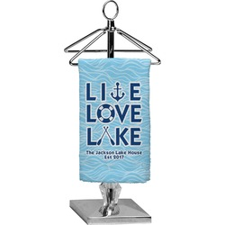 Live Love Lake Finger Tip Towel - Full Print (Personalized)