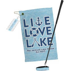 Live Love Lake Golf Towel Gift Set (Personalized)