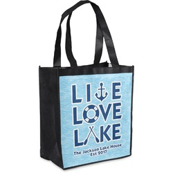 Live Love Lake Grocery Bag (Personalized)
