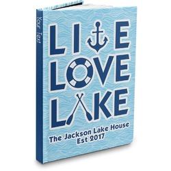 Live Love Lake Hardbound Journal (Personalized)