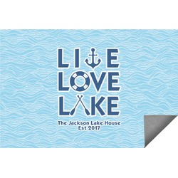 Live Love Lake Indoor / Outdoor Rug (Personalized)