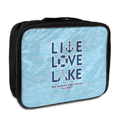 Live Love Lake Insulated Lunch Bag (Personalized)
