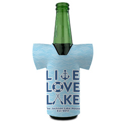 Live Love Lake Bottle Cooler (Personalized)