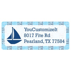 Live Love Lake Return Address Labels (Personalized)