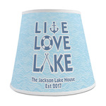 Live Love Lake Empire Lamp Shade (Personalized)