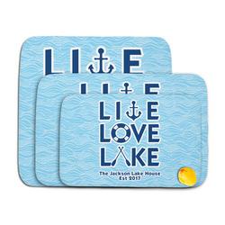 Live Love Lake Memory Foam Bath Mat (Personalized)