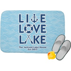Live Love Lake Memory Foam Bath Mat (Personalized)