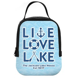 Live Love Lake Neoprene Lunch Tote (Personalized)