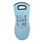 Live Love Lake Neoprene Oven Mitt - Single w/ Name or Text