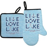 Live Love Lake Oven Mitt & Pot Holder (Personalized)