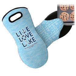 Live Love Lake Neoprene Oven Mitt (Personalized)