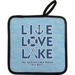 Live Love Lake Pot Holder (Personalized)