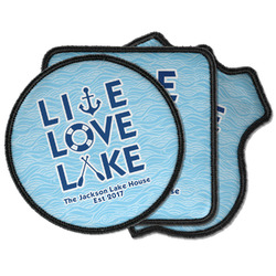Live Love Lake Iron on Patches (Personalized)