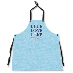 Live Love Lake Apron Without Pockets w/ Name or Text