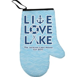 Live Love Lake Oven Mitt (Personalized)