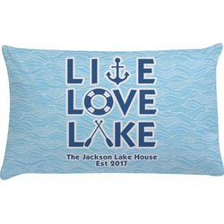 Live Love Lake Pillow Case (Personalized)