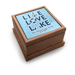 Live Love Lake Pet Urn (Personalized)