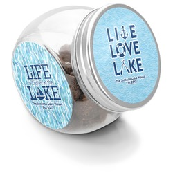 Live Love Lake Puppy Treat Jar (Personalized)