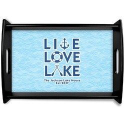Live Love Lake Wooden Trays (Personalized)