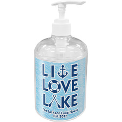 Live Love Lake Soap / Lotion Dispenser (Personalized)