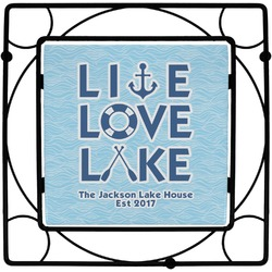Live Love Lake Trivet (Personalized)