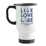 Live Love Lake Stainless Steel Travel Mug with Handle