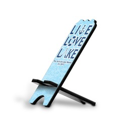 Live Love Lake Stylized Phone Stand (Personalized)