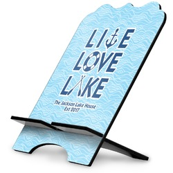 Live Love Lake Stylized Tablet Stand (Personalized)