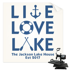 Live Love Lake Sublimation Transfer (Personalized)
