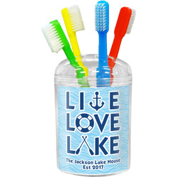 Live Love Lake Toothbrush Holder (Personalized)