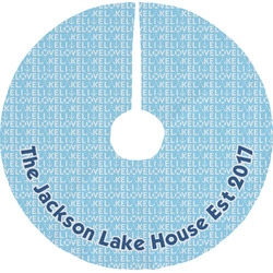 Live Love Lake Tree Skirt (Personalized)