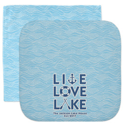 Live Love Lake Facecloth / Wash Cloth (Personalized)