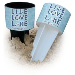 Live Love Lake Beach Spiker Drink Holder (Personalized)