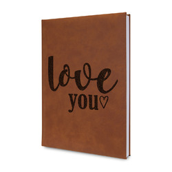 Love Quotes and Sayings Leatherette Journal (Personalized)