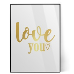 Love Quotes and Sayings Foil Print (Personalized)