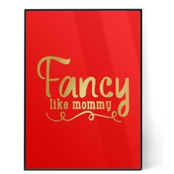 Mom Quotes and Sayings 5x7 Red Foil Print (Personalized)