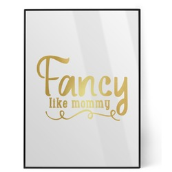 Mom Quotes and Sayings Foil Print (Personalized)