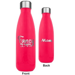 Mom Quotes and Sayings RTIC Bottle - 17 oz. Pink - Engraved Front & Back (Personalized)