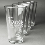 Mom Quotes and Sayings Beer Glasses (Set of 4) (Personalized)