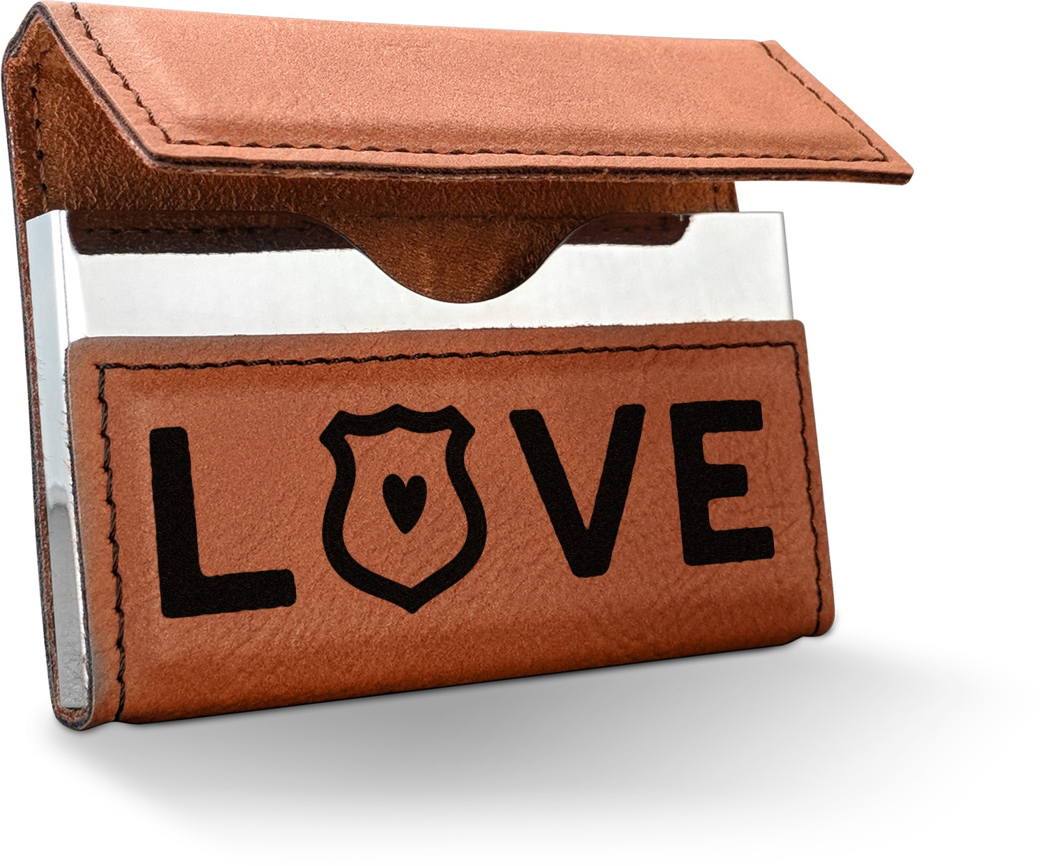 Police Quotes and Sayings Leatherette Business Card Holder ...