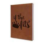 Princess Quotes and Sayings Leatherette Journal (Personalized)