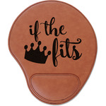 Princess Quotes and Sayings Leatherette Mouse Pad with Wrist Support (Personalized)