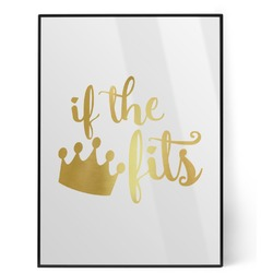 Princess Quotes and Sayings Foil Print (Personalized)