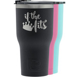 Princess Quotes and Sayings RTIC Tumbler - Black (Personalized)