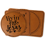 Religious Quotes and Sayings Faux Leather Iron On Patch