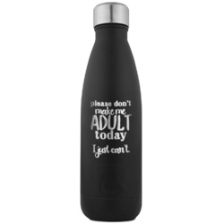 Funny Quotes and Sayings RTIC Bottle - Black - Engraved Front (Personalized)