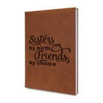 Sister Quotes and Sayings Leatherette Journal (Personalized)