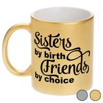 Sister Quotes and Sayings Metallic Mug