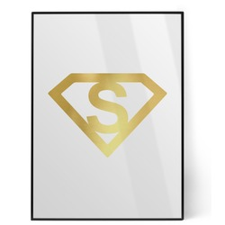 Super Hero Letters Foil Print (Personalized)